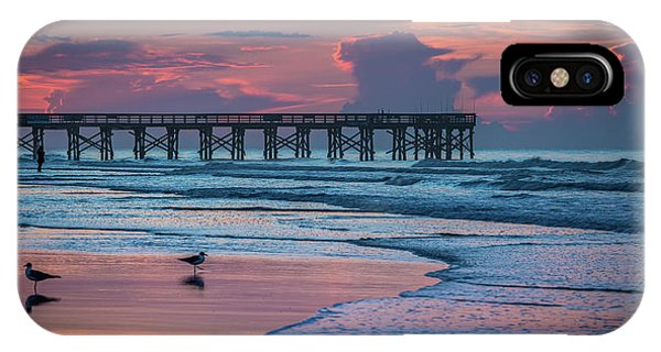 Isle Of Palms Morning IPhone Case