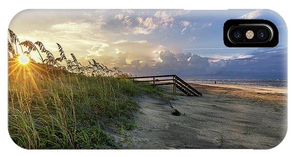 Isle Of Palms Sunstar IPhone Case