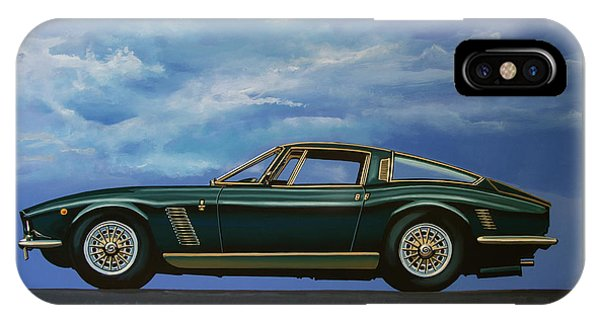 Iso Grifo Gl 1963 Painting IPhone Case