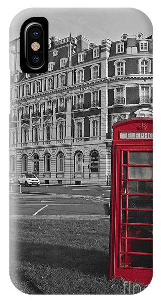Isolated Phone Box IPhone Case
