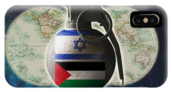 Israel And Palestine Conflict IPhone Case