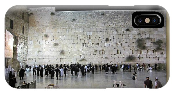 Israel Western Wall - Our Heritage Now And Forever IPhone Case