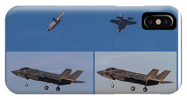 Israeli Air Force First Two F-35i Adir IPhone Case