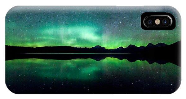 International Space Station iPhone Case - Iss Aurora by Aaron Aldrich