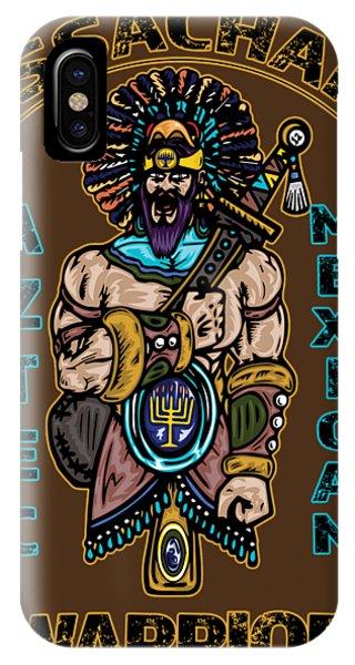 Issachar Aztec Warrior IPhone Case