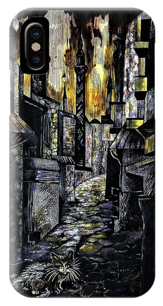 Istanbul Impressions. Lost In The City. IPhone Case