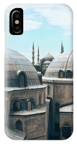 Istanbul Mosque IPhone Case