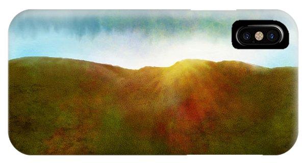 IPhone Case featuring the digital art It Began To Dawn by Antonio Romero