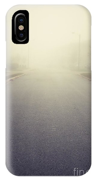 It Is Unclear What Lies Ahead IPhone Case