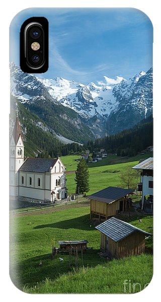 Italian Alps Hidden Treasure IPhone Case