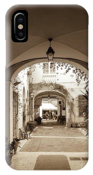 Italian Courtyard  IPhone Case