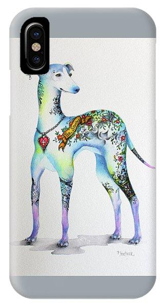 Italian Greyhound Tattoo Dog IPhone Case