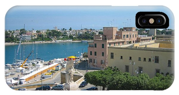 Italian Harbor- Brindisi, Apulia IPhone Case