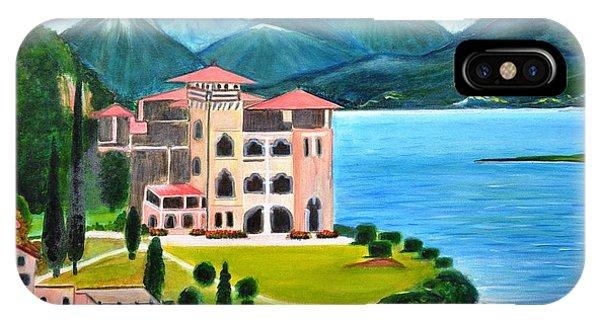 Italian Landscape-casino Royale IPhone Case