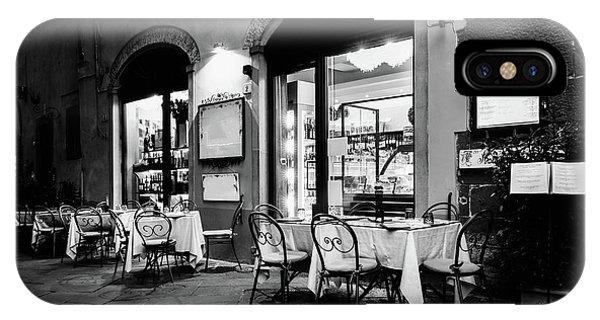 Italian Restaurant In Lucca, Italy IPhone Case