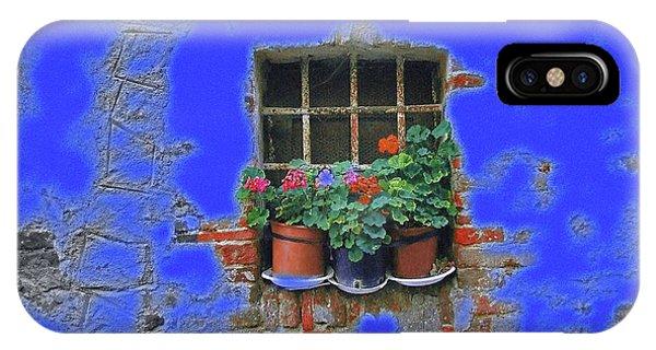 Italian Wallflowers IPhone Case