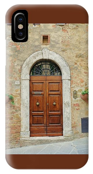 Italy - Door Twelve IPhone Case