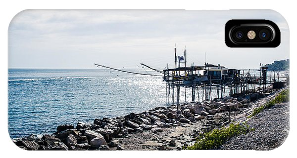 Italy - The Trabocchi Coast 2  IPhone Case