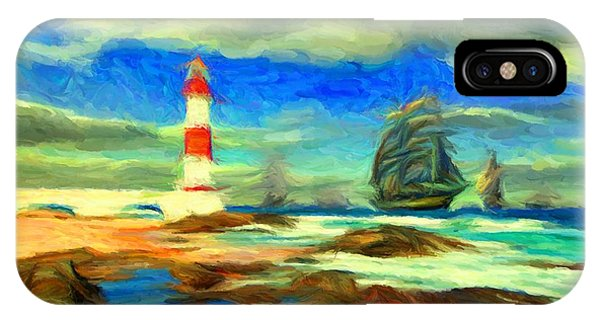 Itapua Lighthouse 1 IPhone Case