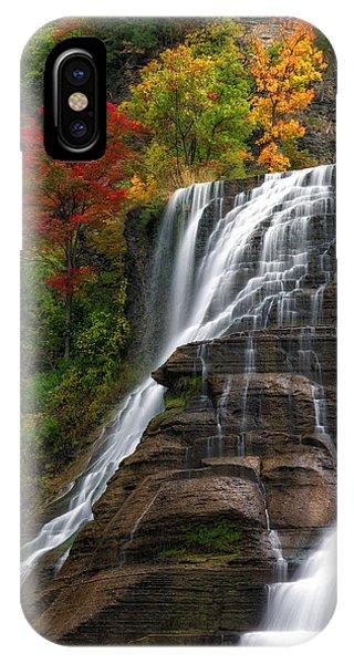Ithaca Falls IPhone Case