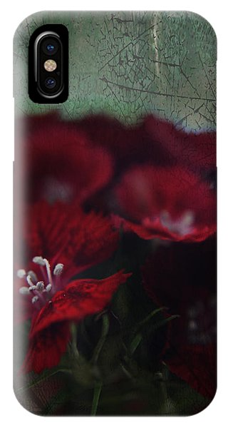 Stamen iPhone Case - It's A Heartache by Laurie Search