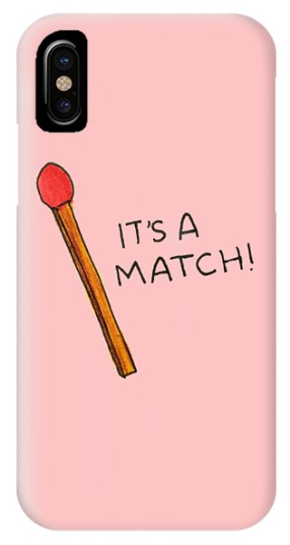 It's A Match IPhone Case