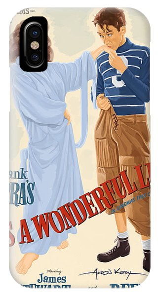 It's A Wonderful Life Poster IPhone Case