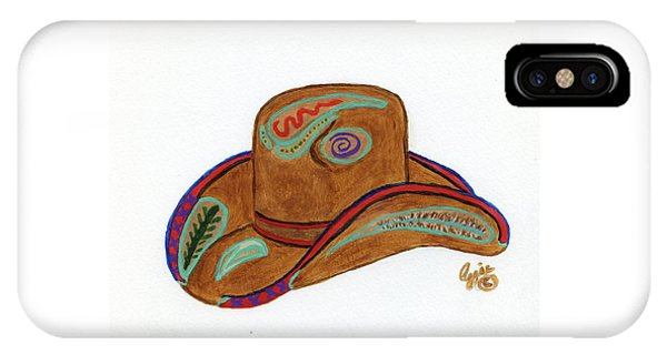 It's All About The Hat IPhone Case