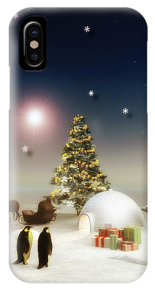 It's Christmas Time IPhone Case