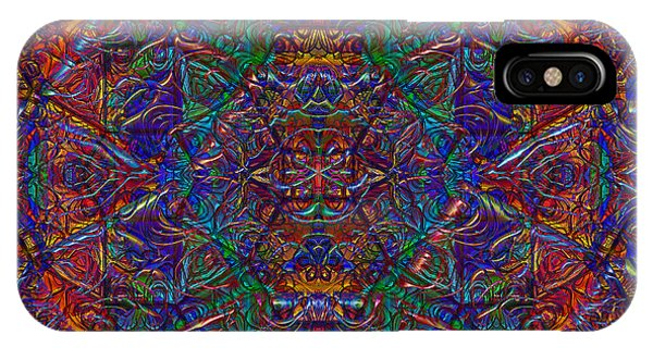 IPhone Case featuring the digital art It's Complicated 2017 by Kathryn Strick