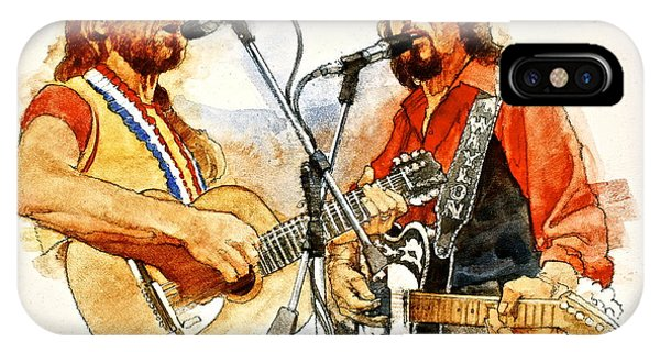 Its Country - 7  Waylon Jennings Willie Nelson IPhone Case