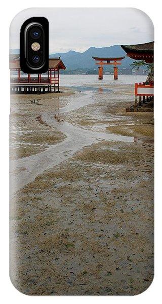 Itsukushima Shrine And Torii Gate IPhone Case