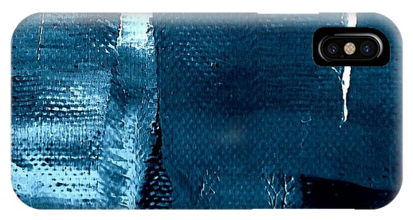 IPhone Case featuring the painting I've Got The Blues by VIVA Anderson