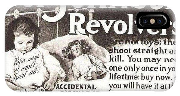 Iver Johnson Revolvers IPhone Case
