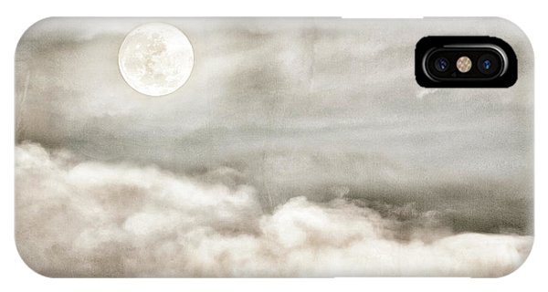 Ivory Moon IPhone Case