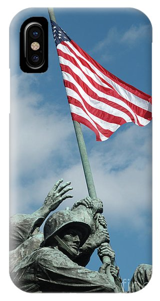 Iwo Jima Memorial IPhone Case