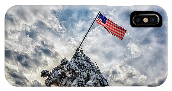 Iwo Jima Memorial IPhone Case