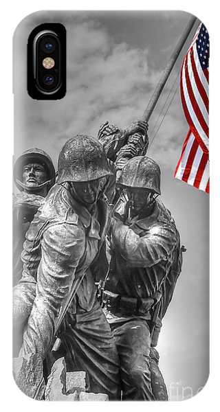 Iwo Jima IPhone Case