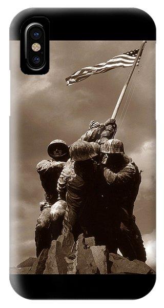 Iwo Jima War Memorial Washington IPhone Case