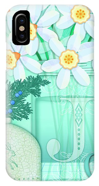 J Is For Jar Of Jonquils IPhone Case