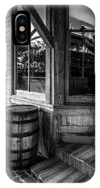 Window Shopping iPhone Case - J. R. Terry Dry Goods 1879 by Marvin Spates