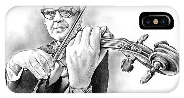 Violin iPhone Case - Jack Benny by Greg Joens