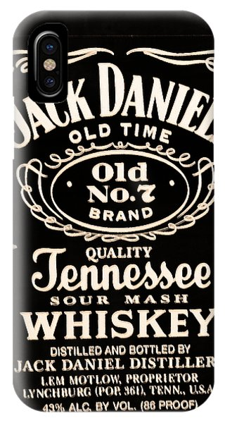 Jack Daniel's IPhone Case