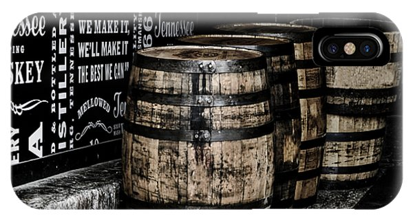 Whiskey iPhone Case - Jack Daniel's Tennessee Whiskey Barrels by Mountain Dreams