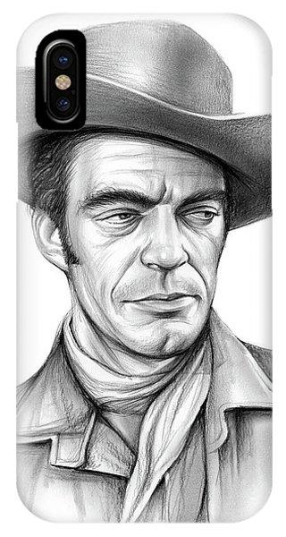 Jack iPhone Case - Cowboy Jack Elam by Greg Joens