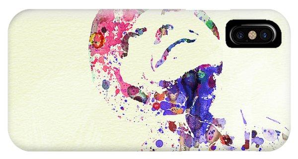 Jack iPhone Case - Jack Nicholson by Naxart Studio