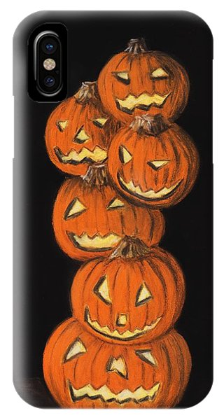 Jack-o-lantern IPhone Case