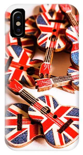 Punk Rock iPhone Case - Jack Of Union Rock by Jorgo Photography - Wall Art Gallery