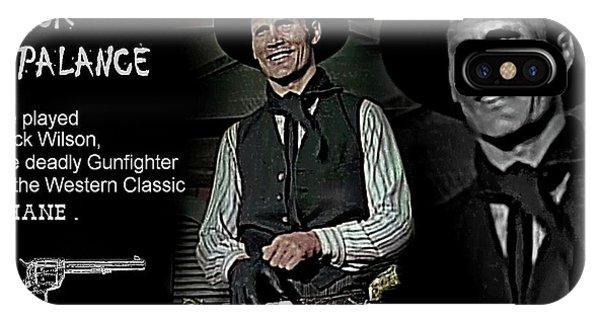 Jack  Palance IPhone Case
