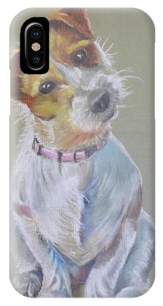 Jack Russell Watching You IPhone Case